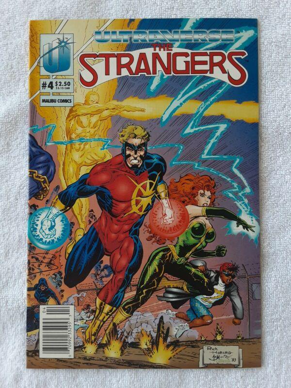 The Strangers #4 (Malibu Comics, 11/93) 9.2 NM-