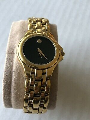 MOVADO LADIES 88 E4 1852 GOLD PLATED WRISTWATCH