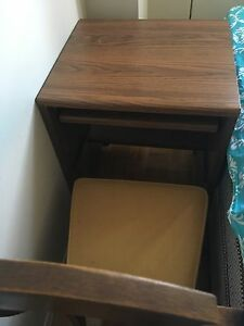 Working desk with chair