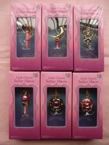 Little Charm Sailor Moon  Miniature Toy Mascot 6pc Full set from Japan Bandai