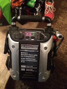 $140 Booster pack with air compressor