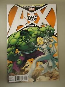 AVENGERS-VS-X-MEN-ROUND-2-Variant-Edition-Marvel-Comics-Hulk-A-vs-X