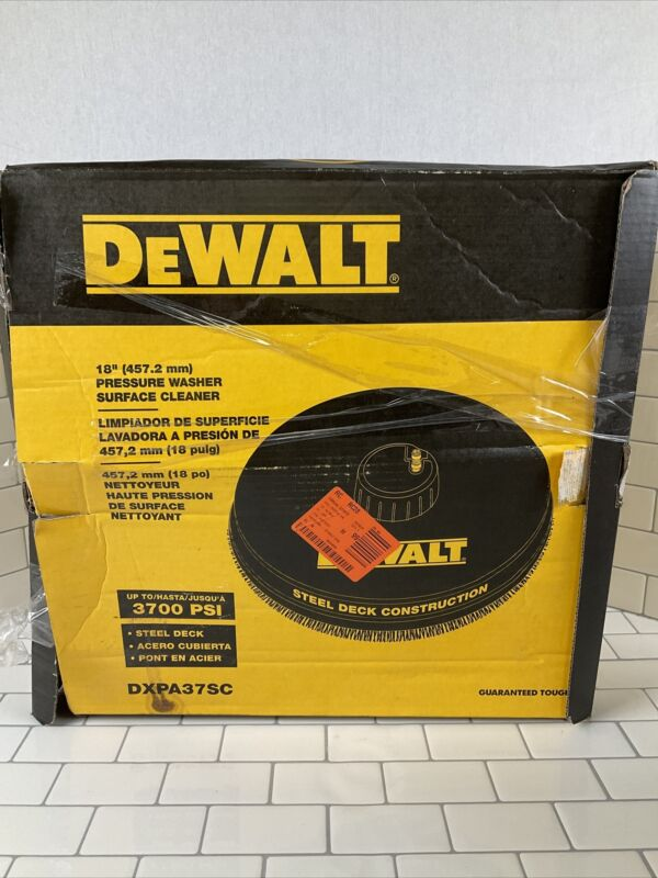 DEWALT 18 in. Surface Cleaner for Gas Pressure Washers Rated up to 3700 PSI