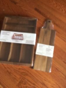 Cutlery tray and serving tray - brand new still wrapped