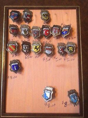 Vintage Lapel Pins YOUR CHOICE $6.49 EACH, Paris, Athen, Turkei $3.99 Flat Ship