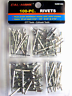 New 100 PC Rivets Set Kit 3/32 1/8 5/32 3/16 Aluminum Pop Blind Rivet