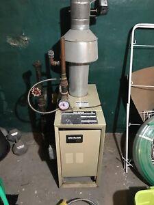 Boiler and circulator pump