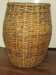 strong CANE BASKET 53cm by 42cm