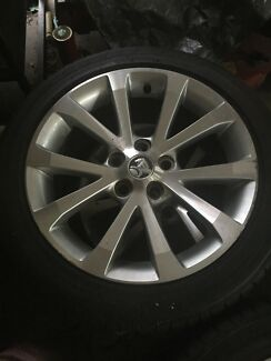 Potenza tyres and 18inch Holden rims  Morisset Lake Macquarie Area Preview