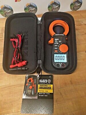 Klein Tools Cl2500 1000a Acdc Trms Clamp Meter. Multi Meter W Hard Pro Case