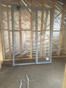 NEW Dowell Aluminium Entry Suite with Sidelite - Ultra Silver Mitcham Whitehorse Area Preview