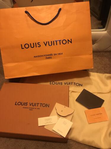 Louis Vuitton Large Box, Large Dustbag, Large Shopping Bag, LV Tags - $16.00