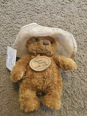 Nice From Mary With Love Hallmark 50th Anniversary Edition plush bear NWT