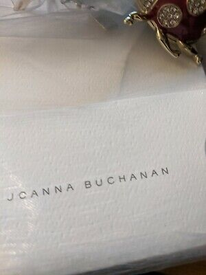 Joanna Buchanan Hanging Ladybug Ornament Red New in Package Limited Edition