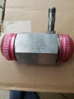Cox Turbine Flowmeter An-32 An32 An 32