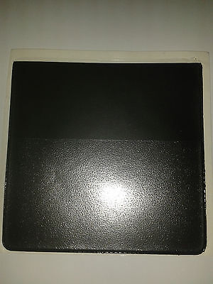 PARKING PERMIT HOLDER IN BLACK PVC + EXTRA POCK FOR CARD-WINDOW STICK/SELF CLING