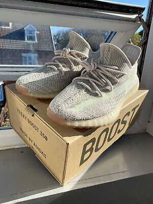 Adidas Yeezy Boost 350 V2 Citrin Trainers UK 9.5