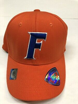 NCAA Top Of The World Florida Gators One-Fit Orange Hat With Blue