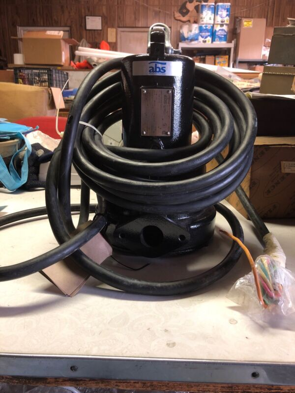 Sulzer ABS Piranha S20/2 Submersible Wastewater Pump and Motor NEW