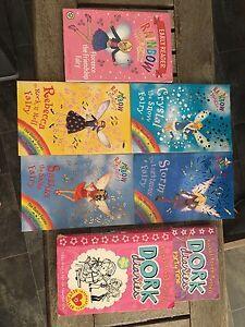 Rainbow Magic & Dork diaries Books Maslin Beach Morphett Vale Area Preview