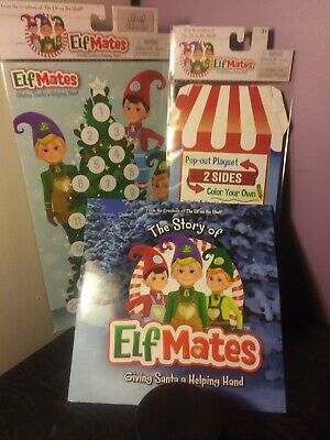 Elf Mates Bakery Play set, Book and Advent Calendar NEW from Elf on the Shelf