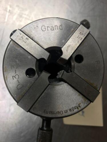 """Grand Die Head made in Germany  d-3-3/4  1"""" shank"""