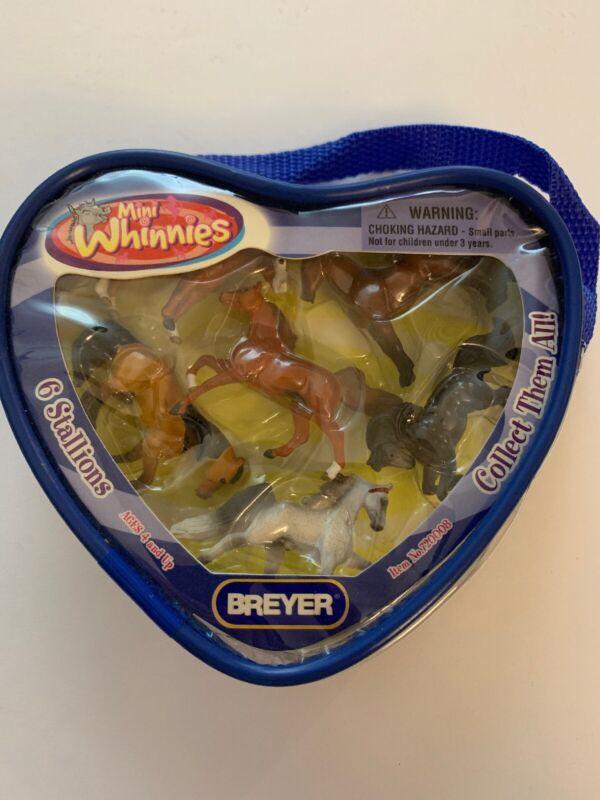 2005 Breyer Mini Whinnies 720008 NIP Stallions Set Of 6 Rare New