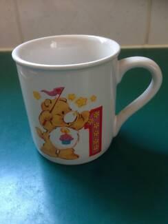 VINTAGE CARE BEARS 1ST BIRTHDAY COLLECTION MUG CUP