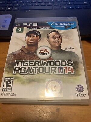 Tiger Woods PGA Tour 14 (Sony PlayStation 3, 2013) PS3 Fast Shipping - Complete
