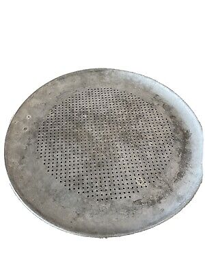 Pizza Baking Pan Round Perforated