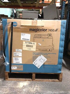 (Konica Magicolor 7450 II Grafx Color Large Format Laser Network Printer 24 PPM)