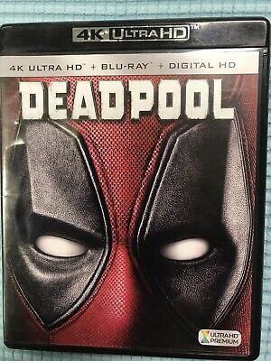 Deadpool (4K Ultra HD/Blu-ray,2016,2-Disc Set) NO DIGITAL COPY