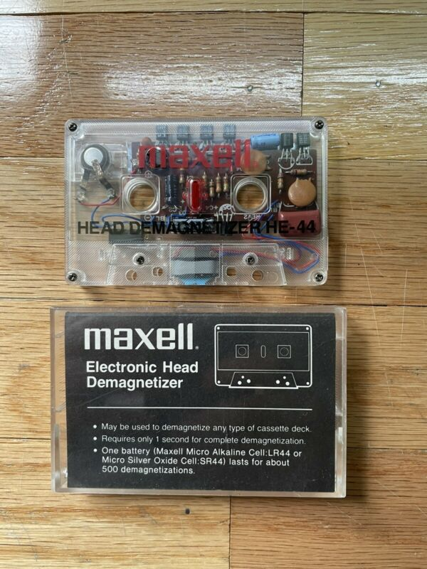 Maxell HE-44 Cassette Head Electronic Demagnetizer
