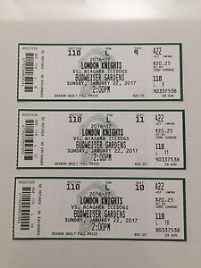3 knights Tickets for today's game lower bowl $60