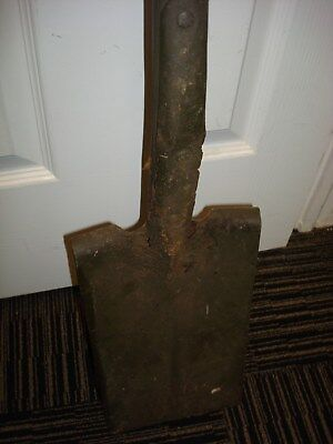 "WW1 TRENCH SHOVEL POSSIBLY GERMAN-39"" TALL"