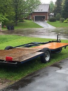 7x12 trailer.... wired , new rims & tires $300