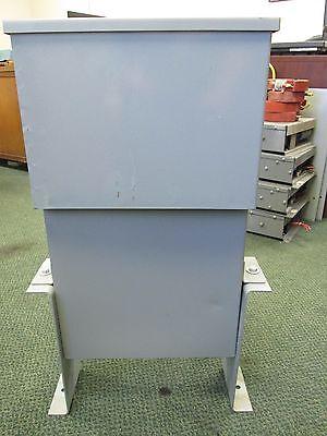 Aerovox Power Capacitor Ics0050f33 50 Kvar 480v 3ph 60hz Used
