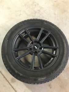 Fast Alloy Rims and Snow Tires