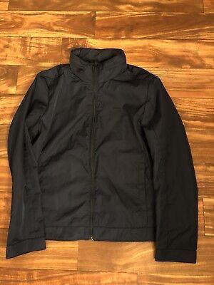 Calvin Klein Mens Sportswear Hidden Hood Blue Polyester Full Zip Jacket Size M ()