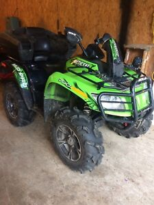 REDUCED!!2013 Artic Cat MudPro 700 for sale