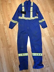 HIGH VIS- FR COVERALLS