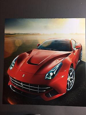 2014 Ferrari F12 Coupe Print, Picture, Poster, RARE!! Awesome L@@K