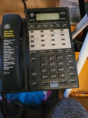 Ge 2-9451a Pro-series 4-line Business Office Phone