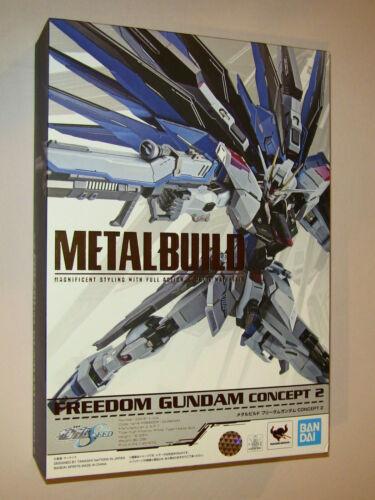 Bandai Metal Build Gundam Seed Freedom Gundam Concept 2 Action Figure NEW