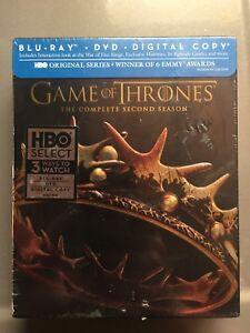 Game of Thrones Season 2 Blu Ray (OBO)