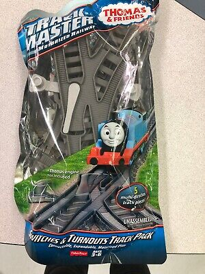 NEW Thomas Trackmaster Switches & Turnout Track Pack Fisher Price DFM58