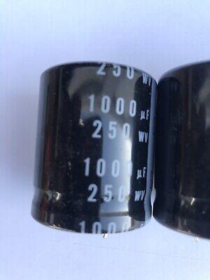 Capacitor 1000mfd 250v 3pcs Nichicon