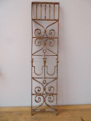 V3950 Window Bars ~ Balkongitter~Trellis~Art Nouveau Fence Element Grid