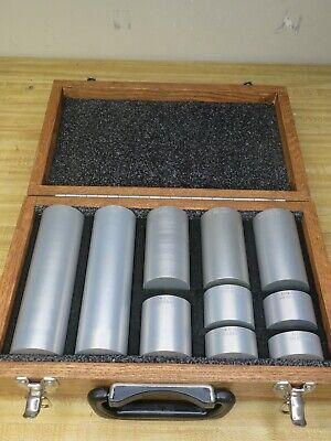 Astm-e-127 Area Amplitude Calibration Blocks 7075 Aluminum Set Of 10 Og49