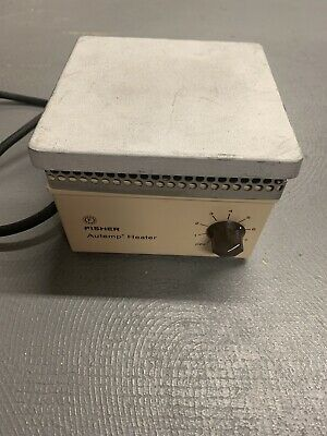 Vintage Fisher Scientific Autemp Heater Tested Working Heating Plate See